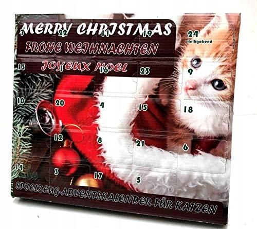 Kalendarz Adwentowy Dla Kota Z Zabawkami 8219448958 Oficjalne Archiwum Allegro