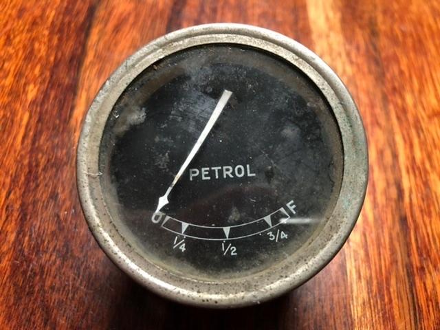 Brytyjski wskaźnik paliwa