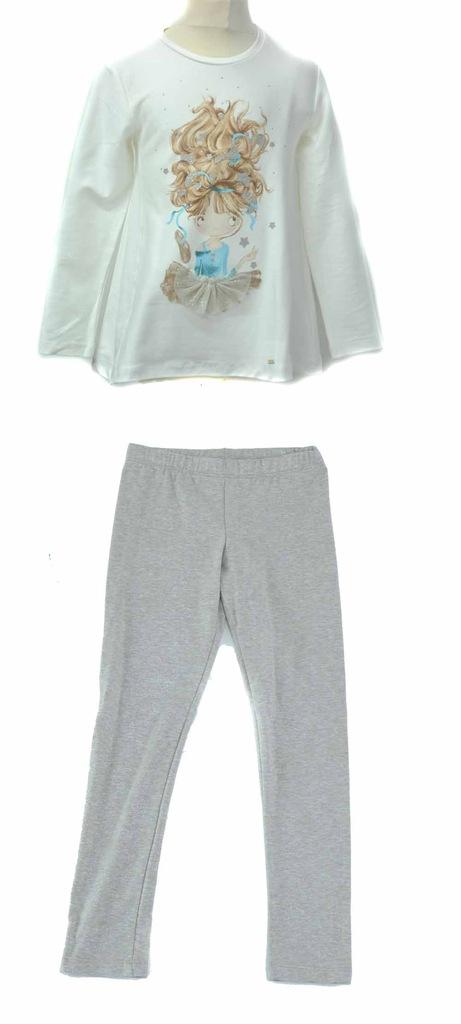 MAYORAL 4729-83 komplet bluzka+legginsy 128 sale