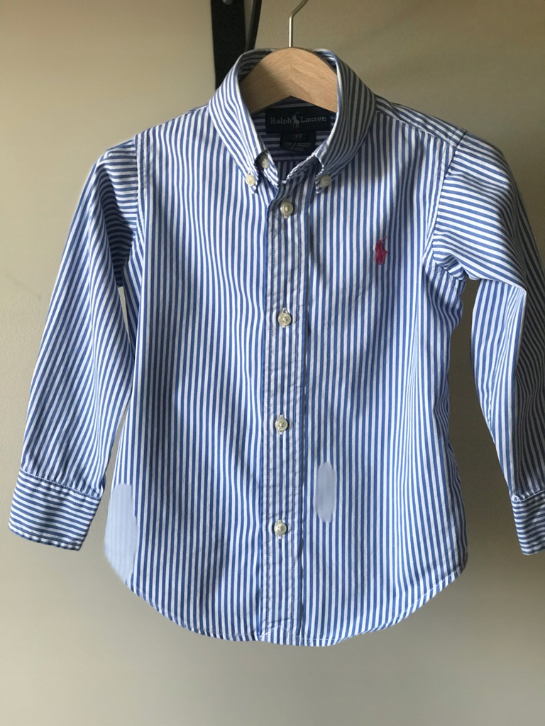 Ralph Lauren koszula elegancka paski r.2lata