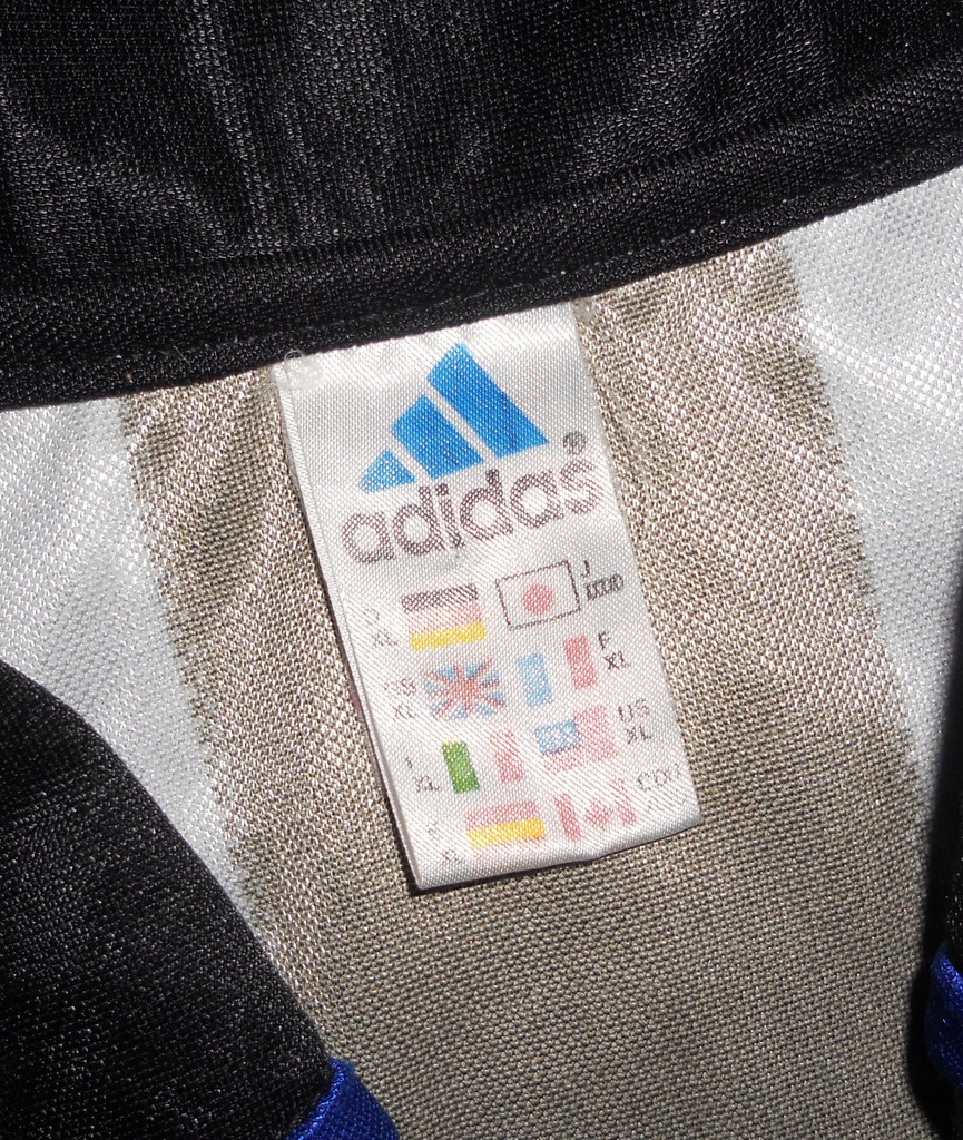 Newcastle United Adidas Away Shirt 1999 Unikat XL