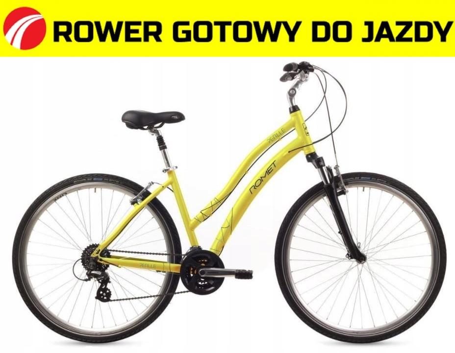 1628061 - 16 M Rower ROMET PERLLE zółty