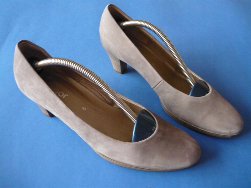GABOR*sliczne buty nubuk piaskowe *39,5