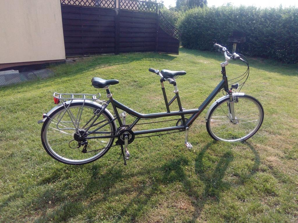 Pegasus Tandem rower idealny stan 28 cali unisex