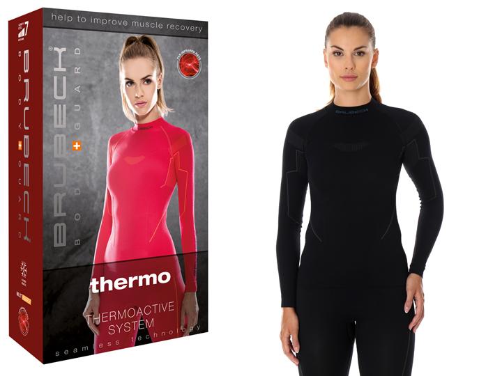 BRUBECK Thermo damska bluza NA NARTY LS13100 r. XL