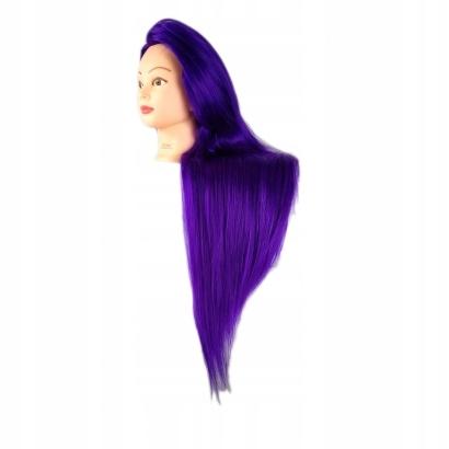 GŁÓWKA Głowa treningowa fryzjerska STATYW 80cm