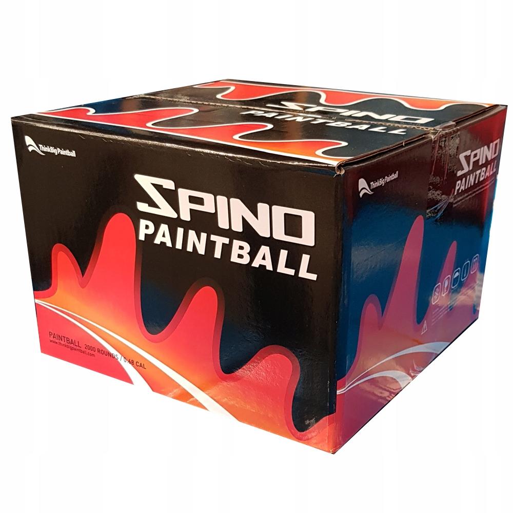 TBP Spino 2000szt - kulki do paintballa
