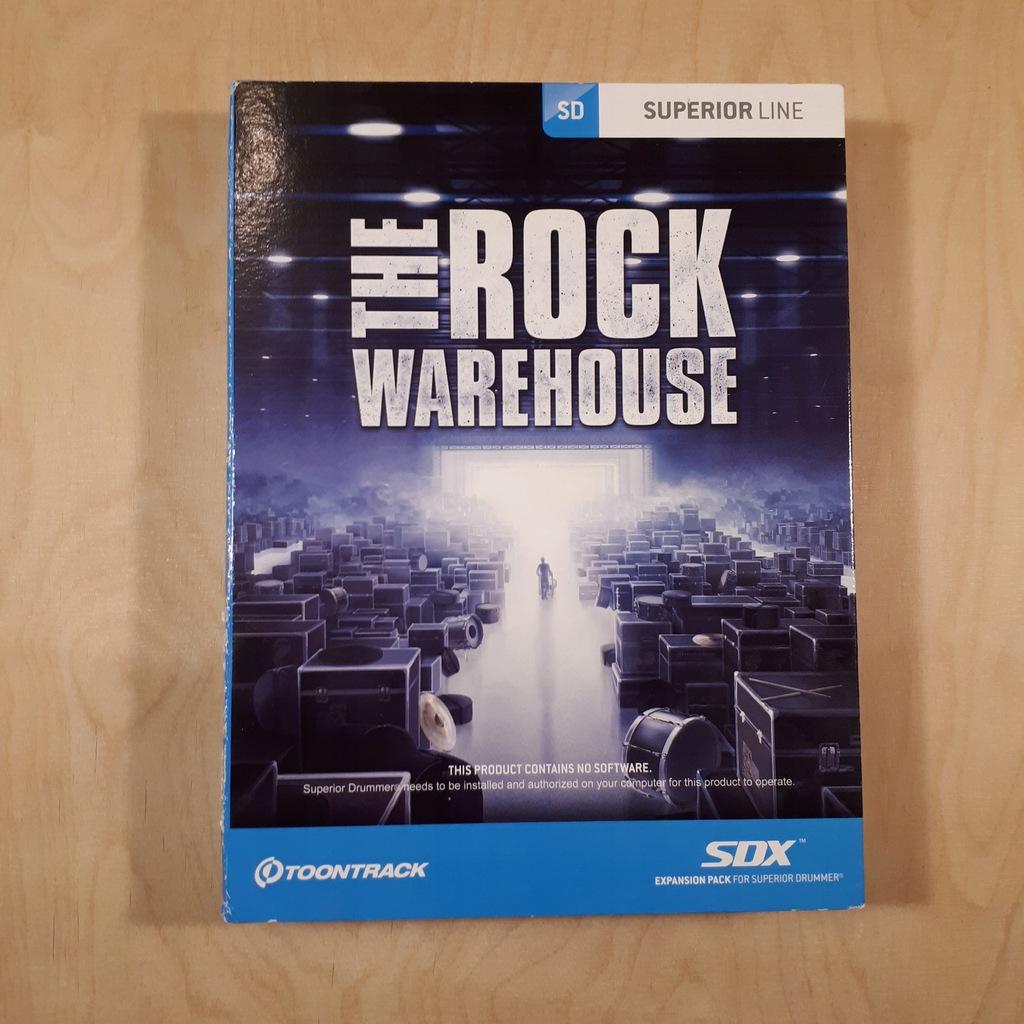 Toontrack SDX The Rock Warehouse - BOX