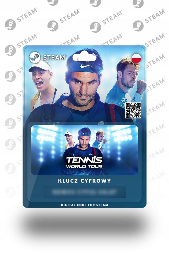 Tennis World Tour PL KLUCZ STEAM - PC