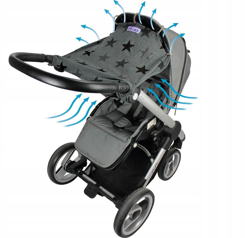 Osłonka do wózka i fotelika Dooky Design Stars