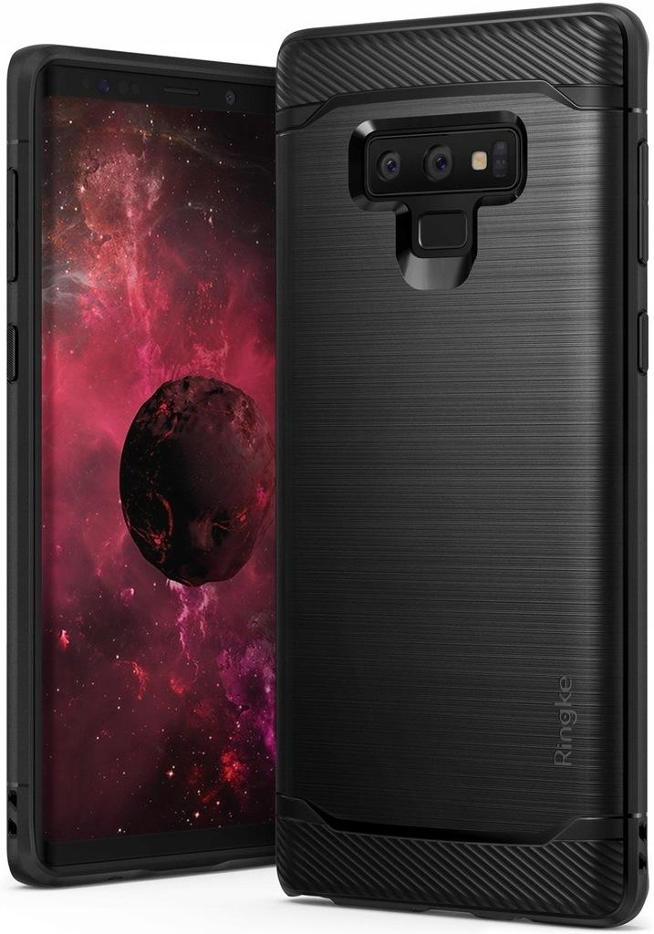 Ringke Onyx Czarny Pokrowiec etui do Galaxy Note 9