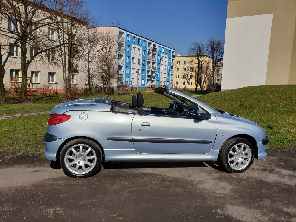 Samochody Osobowe Peugeot 206cc 7929066083 Oficjalne Archiwum Allegro
