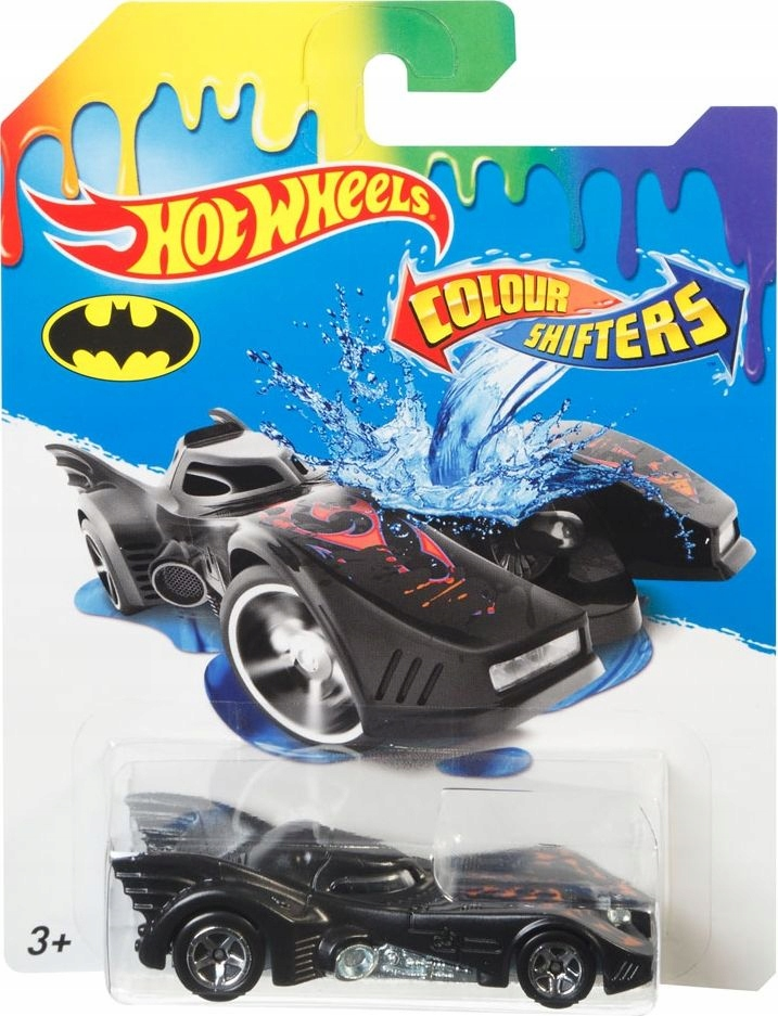 HOT WHEELS CAR COLOR SHIFTERS ZMIENIA KOLOR BATMAN