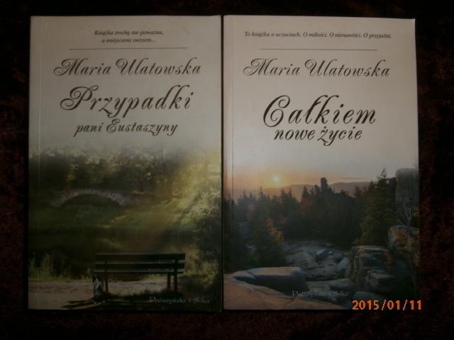 M.Ulatowska Całkiem nowe życie i Przypadki Pani E.