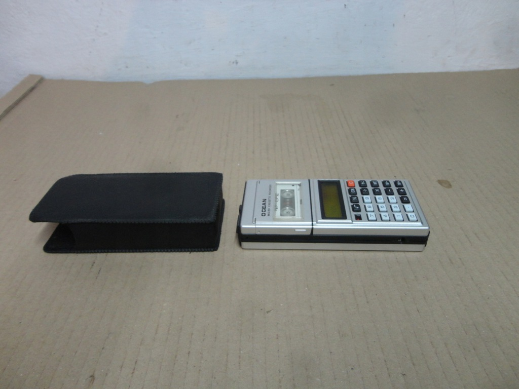 kalkulator z dyktafonem