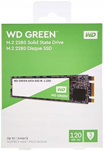 DYSK SSD WESTERN DIGITAL GREEN M.2 2280 SATA 120GB