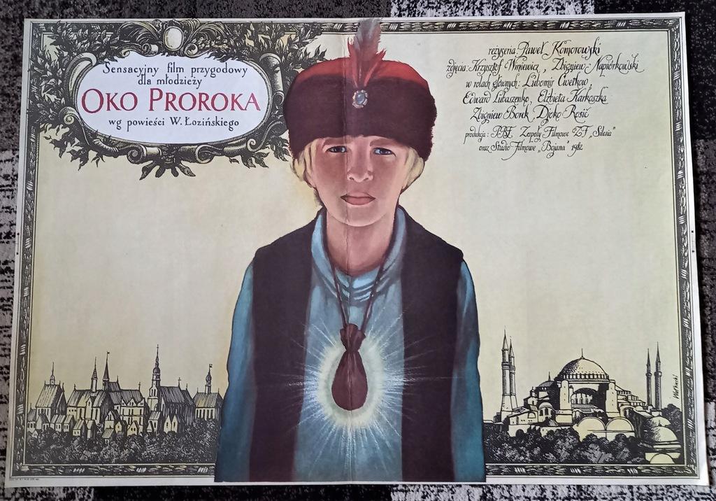 plakat - OKO PROROKA x 2 - WAŁKUSKI 1983
