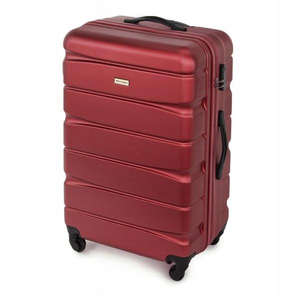 Oryginalna Duża walizka WITTCHEN 56-3A-363 bordo