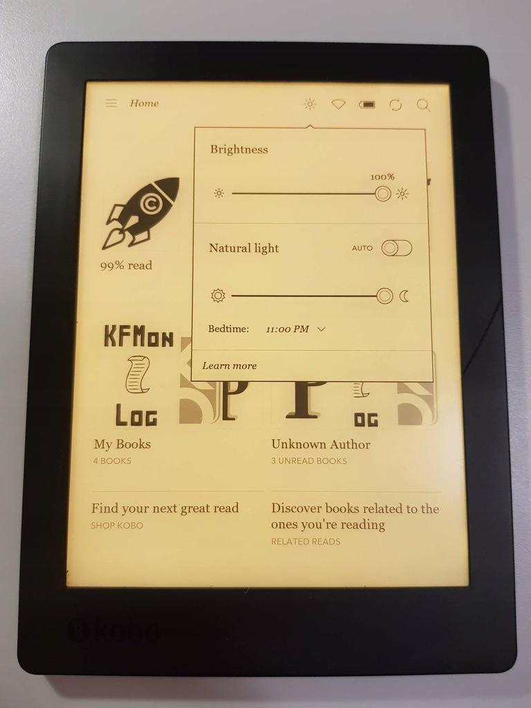 Kobo Aura H2O wersja 2. Jak Kindle Oasis 3 Wwa
