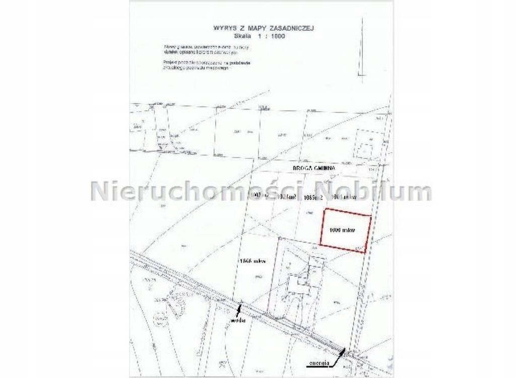 Działka, Karwiniec, Bierutów (gm.), 1000 m²