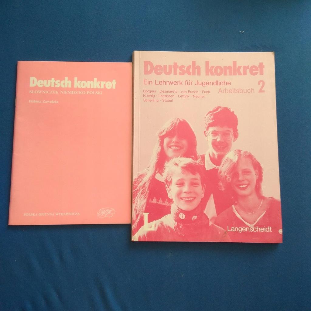 Deutsch Konkret Lehrbuch 2 + słowniczek