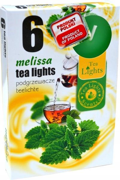 MELISA 6szt. - podgrzewacze zapachowe