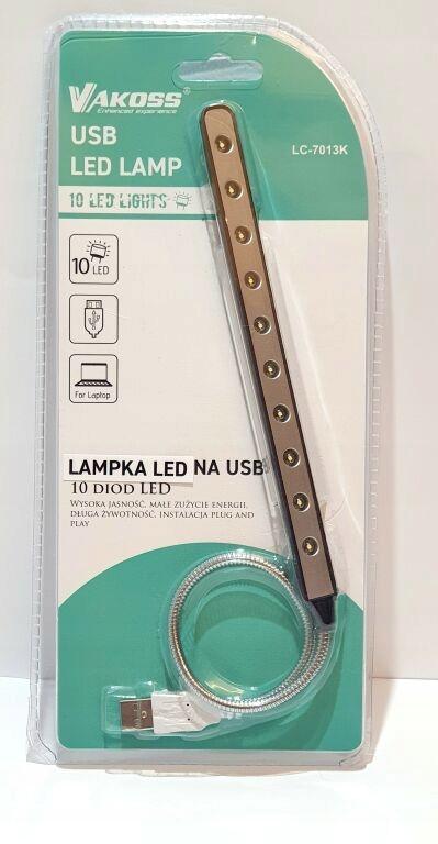 LAMPKA DO NOTEBOOKA VAKOSS USB LC-7013K