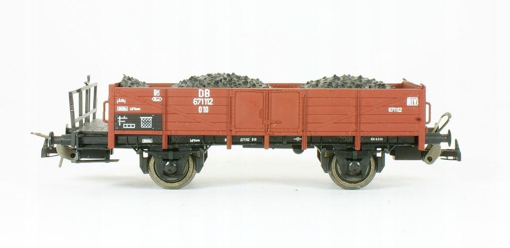 Sachsenmodelle. Wagon węglarka z węglem DB III ep.