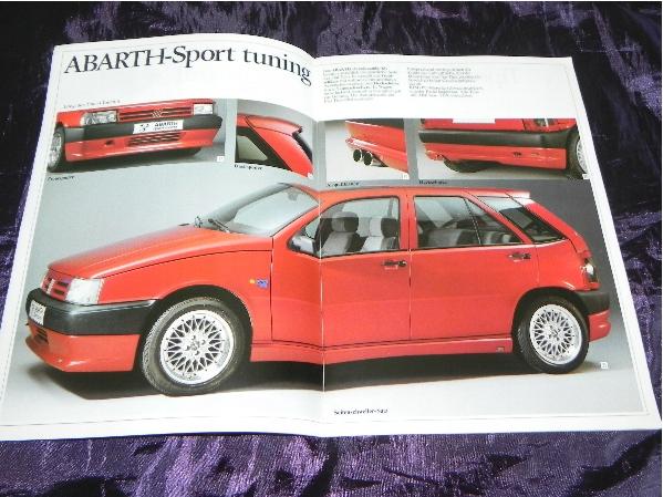 Fiat Tipo Abarth Sport Tuning I Akcesoria 1992 8282133098 Oficjalne Archiwum Allegro