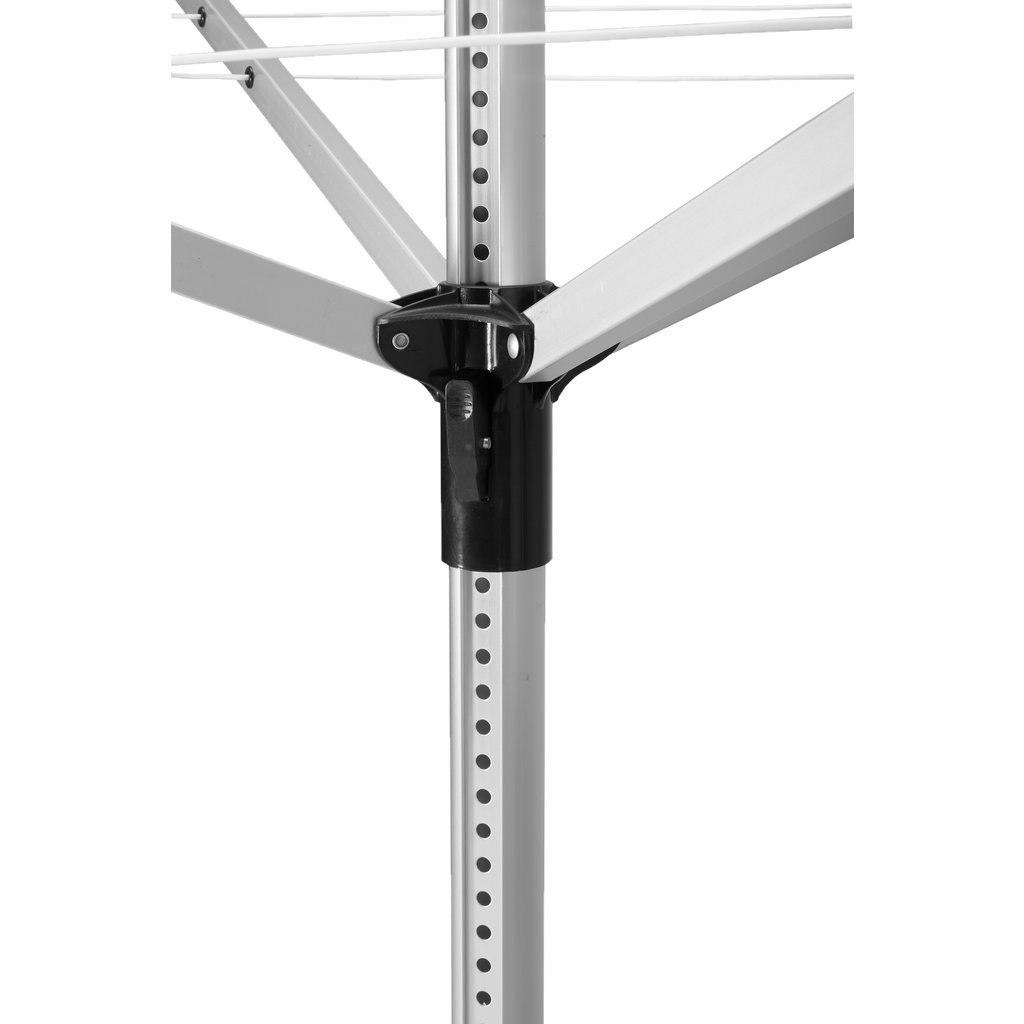 Stojąca suszarka ogrodowa 50m 185cm aluminium lekk