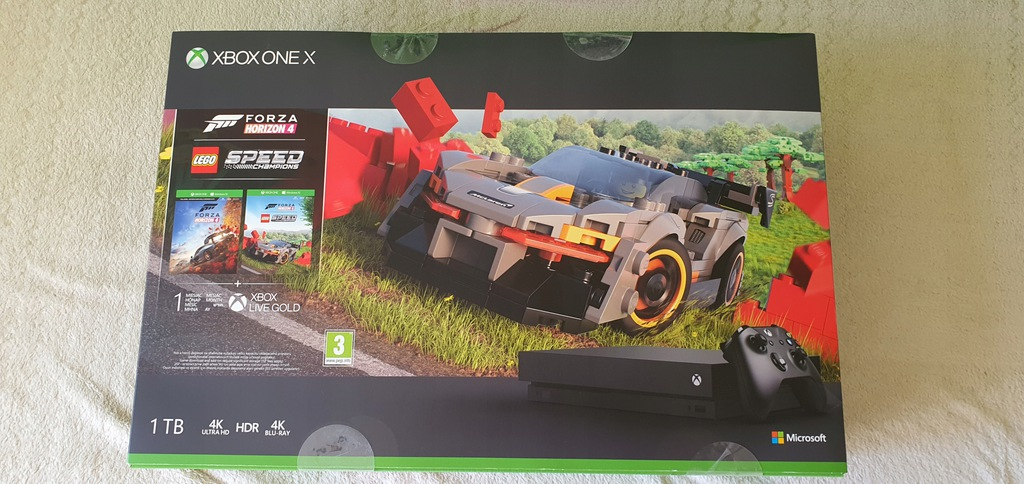 Xbox One X Forza Horizon 4+LEGO Speed Champions