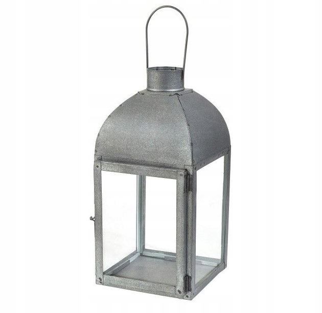Latarnia ogrodowa latarenka 32x16x15 lampion stal