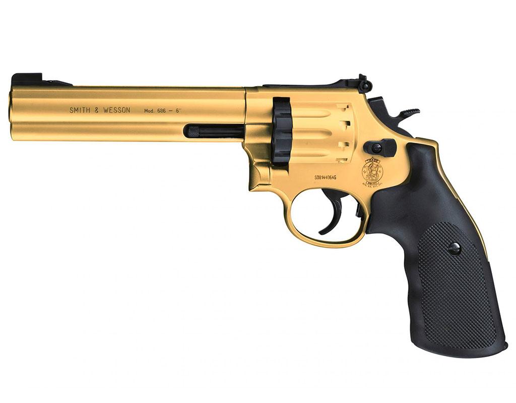 Wiatrówka rewolwer Smith&Wesson Mod.686+GRATIS