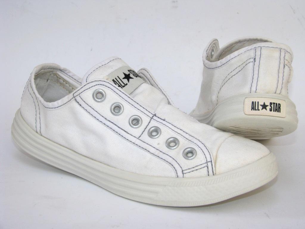 Converse All Star Pianka trampki 37,5 (24cm czyste