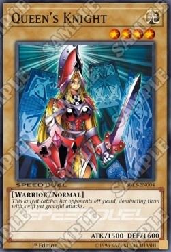 YUGIOH - Queen's Knight (SBLS)