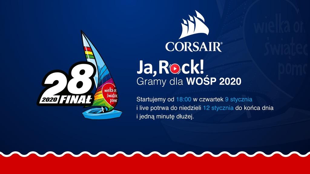 Paczka JaRock od CORSAIR+Bethesda+Pizza Dominium