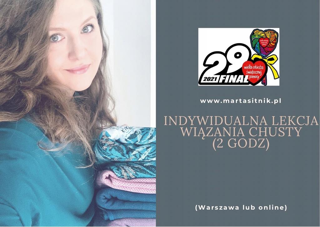 Nauka wiązania chusty Warszawa lub online