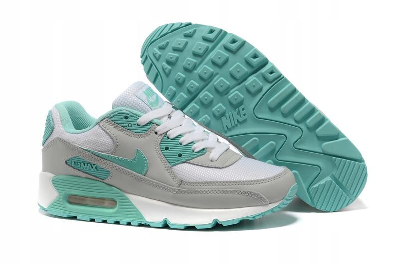 Nike Air Max 90 Miętowe 36 40 WYPRZEDAŻ 8233100896
