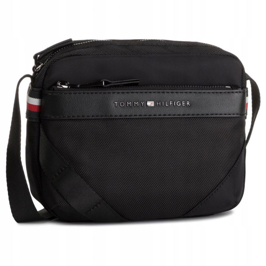 Shoulder bag reporterka torba TOMMY HILFIGER LOGO