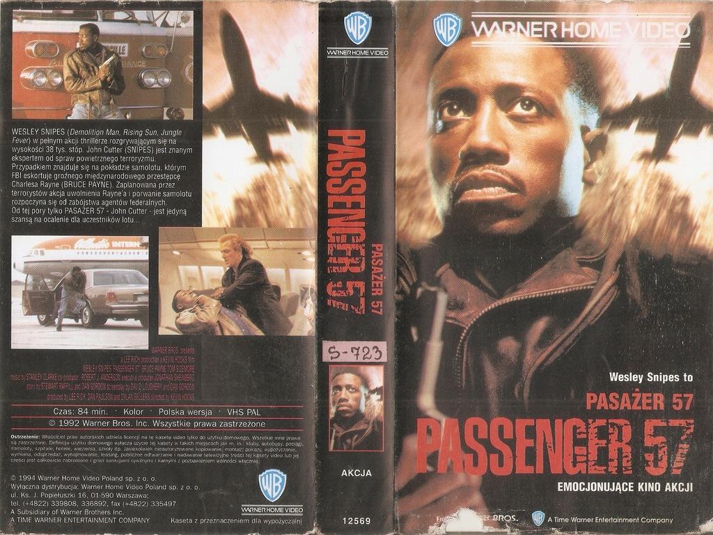 Pasażer 57 - VHS