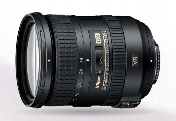 NIKON AF-S Nikkor 18-200mm f/3.5-5.6 ED VR II # FV