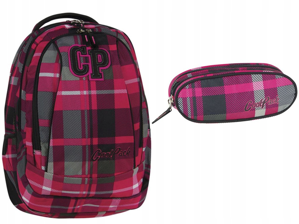 Komplet szkolny CoolPack CP pojemny plecak piórnik