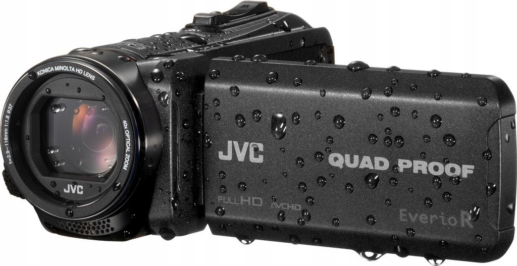 JVC GZ-R445BEU KAMERA QUAD PROOF + TRIPOD + ETUI
