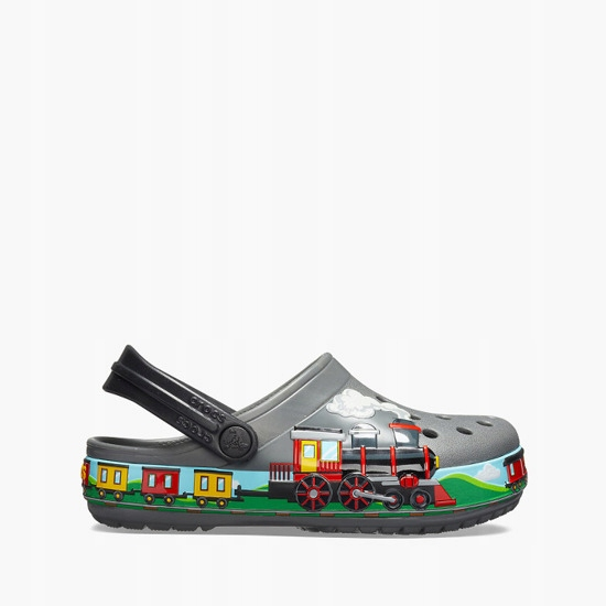 Klapki Crocs Train Marvel 205516 SLATE GREY r.29,5