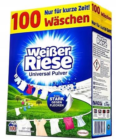 Weiser Riese Uniwersal Proszek Prania 100pr 5,5kg