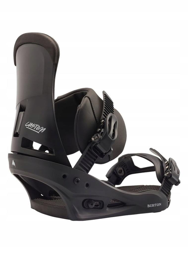 Wiązania snowboardowe Burton Custom black L
