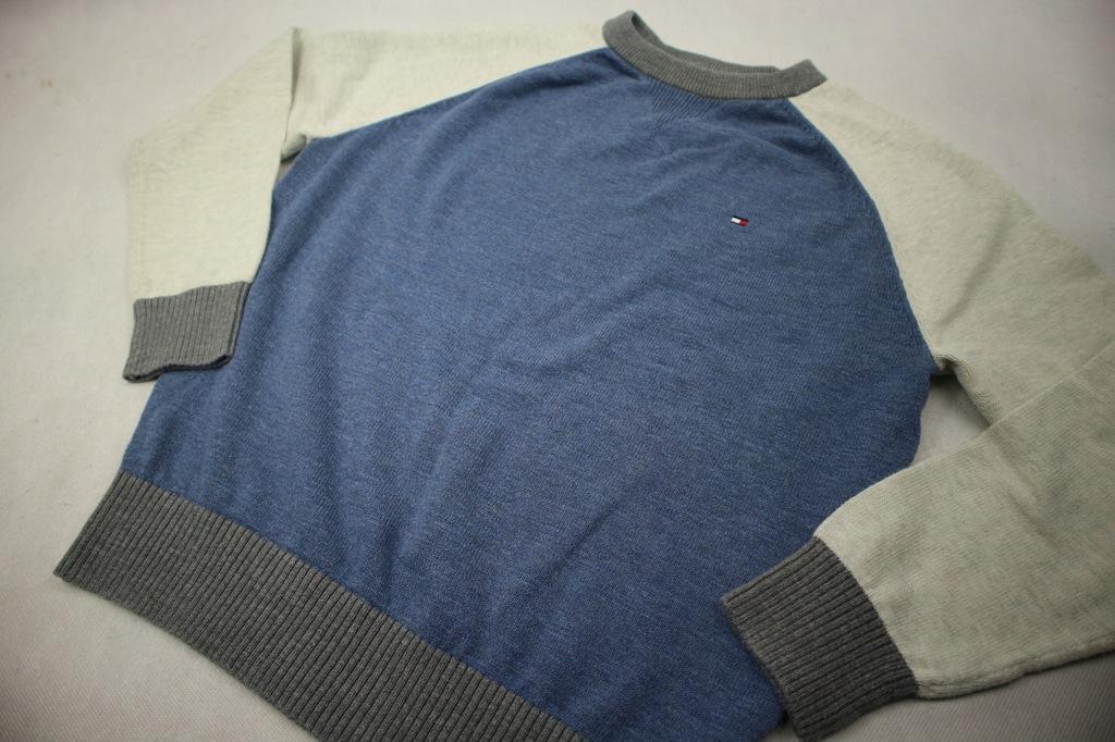 Tommy Hilfiger sweter reglan jak nowy S