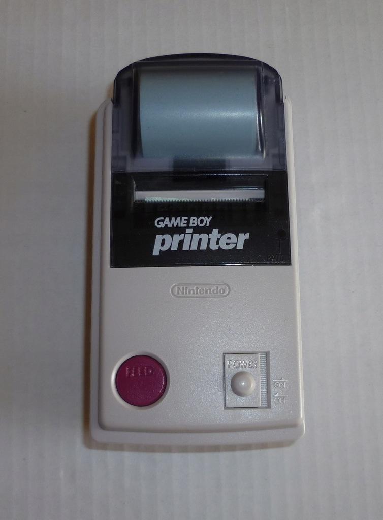 Oryginalna drukarka do konsoli Nintendo Game Boy