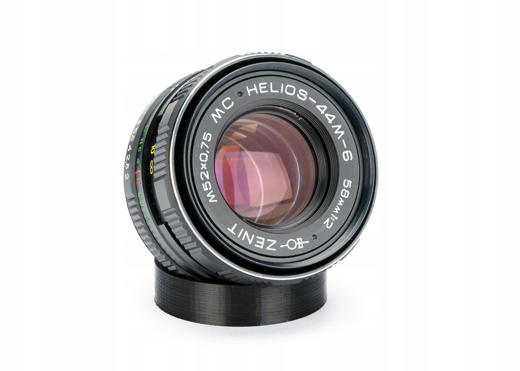 Nikon - Helios MC 44M-6 58mm f/2 - OSTRY BOKEH