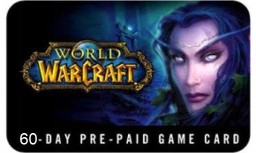 World of Warcraft WoW Prepaid - 60 Dni Klucz / Kod